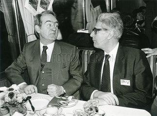 Johannes Rau  Hans-Jochen Vogel  1985