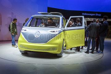 Konzeptfahrzeug VW I.D. Buzz