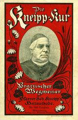 Die Kneipp-Kur  Gesundheitsratgeber  Buch  1899