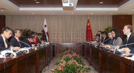 PANAMA-PANAMA CITY-CHINA-FIRST POLITICAL CONSULTATION