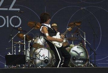 Konzert von Jeff Beck bei Porijazz 2010