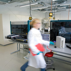 Koeln  Deutschland  Siemens Healthcare Diagnostics  Brustkrebs-Prognose-Test