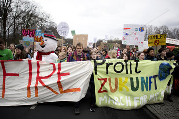 FridaysForFuture Climate-Protest