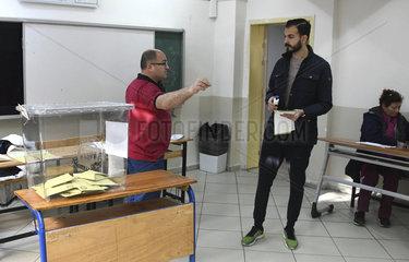 TURKEY-ISTANBUL-MUNICIPAL VOTES