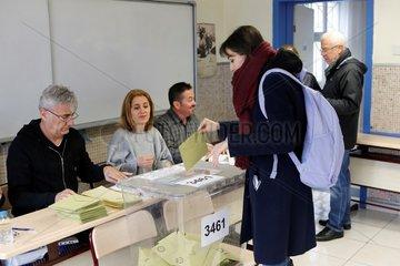TURKEY-ANKARA-MUNICIPAL VOTES