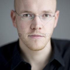 Portrait junger Mann