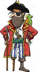 Holzbein Serie Piraten