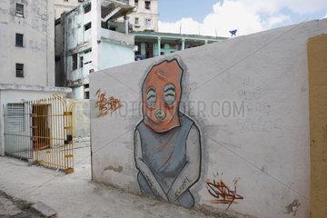 Graffiti in Cuba