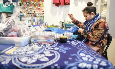 CHINA-JILIN-SHAMAN CULTURE-MAKER (CN)