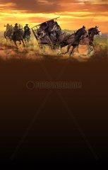 Serie Western Kutschen Verfolger
