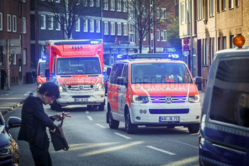 Attacke in Muenster -