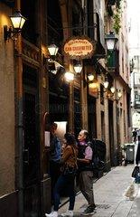 SPAIN-BARCELONA-CAN CULLERETES RESTAURANT