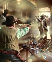 Serie Western Saloon Ueberfall