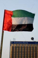 Dubai  Vereinigte Arabische Emirate  Nationalflagge