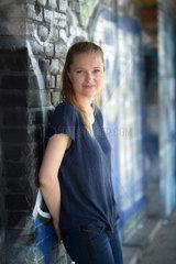 Berlin  Deutschland  Anni Dunkelmann  TV-Moderatorin