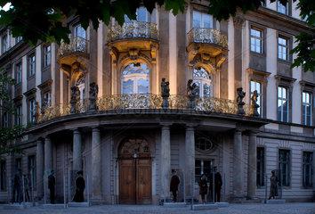 Berlin  Deutschland  das Ephraim Palais Museum zur Daemmerung