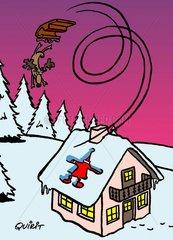 Weihnachtscartoon Nr. 914