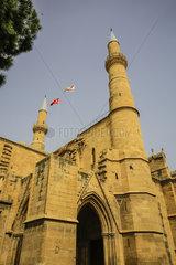 Nikosia  Tuerkische Republik Nordzypern  Zypern - Selimiye-Moschee in der Altstadt von Nikosia (Nord)