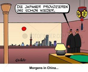 Japanische Provokation