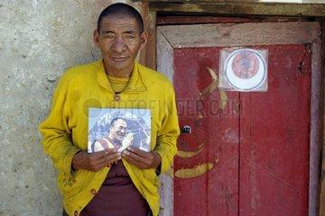 Tibet Mansarovar-See Kloster Seralung