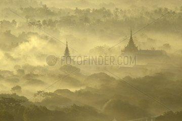 Burma Mandalay Sunrise