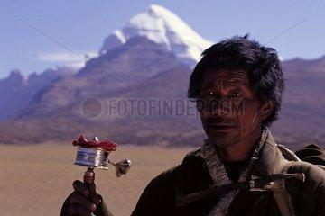 Tibet Berg Kailash Pilger