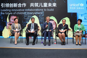 (IMPORT EXPO)CHINA-SHANGHAI-UNICEF-FORUM (CN)