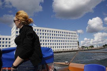 Kanalboot in Kopenhagen