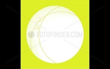 Frohe Ostern Animation mit Rahmen