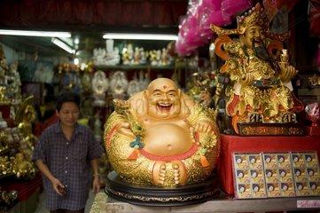 Chinesischer Buddha Ladengeschaeft