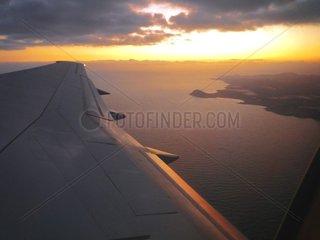 Kanarische Inseln Teneriffa Flugzeug