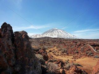 Kanarische Inseln Teneriffa Nationalpark del Teide Pico del Teide