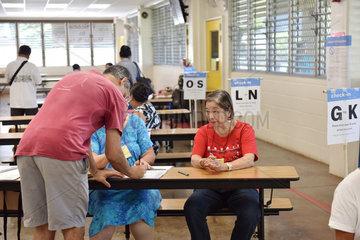 U.S.-HAWAII-HONOLULU-MIDTERM ELECTIONS