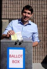 U.S.-CALIFORNIA-MODESTO-MIDTERM ELECTIONS