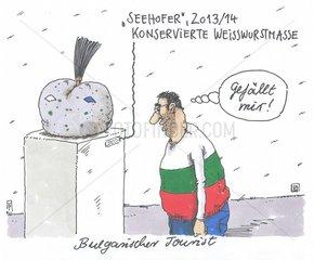Bulgarischer Tourist