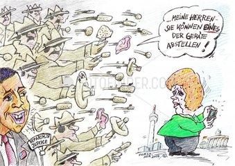 NSA Obama Merkel