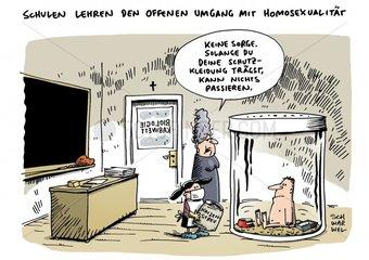 Homosexualitaet im Schulunterricht Maischberger-Talk