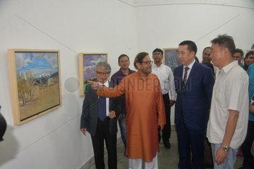 BANGLADESH-DHAKA-CHINA-SILK ROAD EXHIBITION