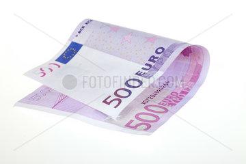 Berlin  Deutschland  ein 500-Euroschein