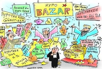 Hypotheken Bazar Zins
