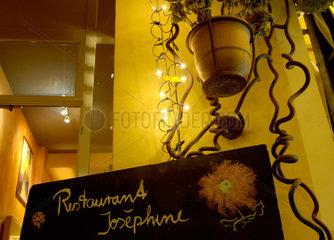 Berlin  Deutschland  Restaurant Josephine in Berlin Kreuzberg