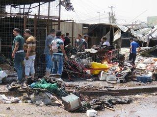 IRAQ-BAGHDAD-CAR BOMBING
