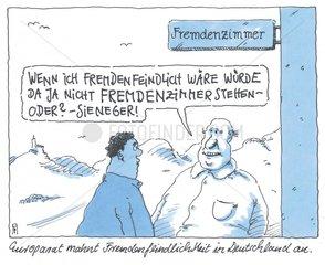 Fremdenfeindlichkeit deutsch