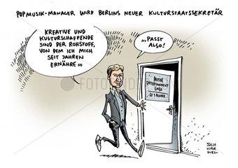Tim Renner wird Berlins neuer Kulturstaatssekretaer