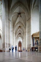 Nantes  Frankreich  Innenansicht der Saint Pierre Kathedrale von Nantes
