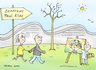 Kunstbesuch Paul Klee