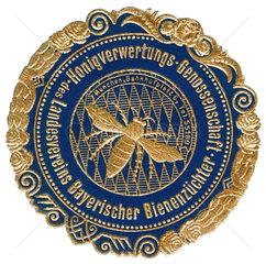 Bayerische Bienenzuechter  Werbemarke  1913