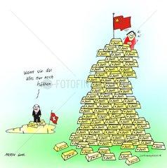 Schweiz China Nationalgold