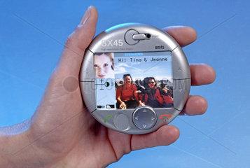 Handy SX45  Machbarkeitsstudie  Siemens  2001