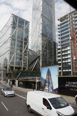Baustelle in London